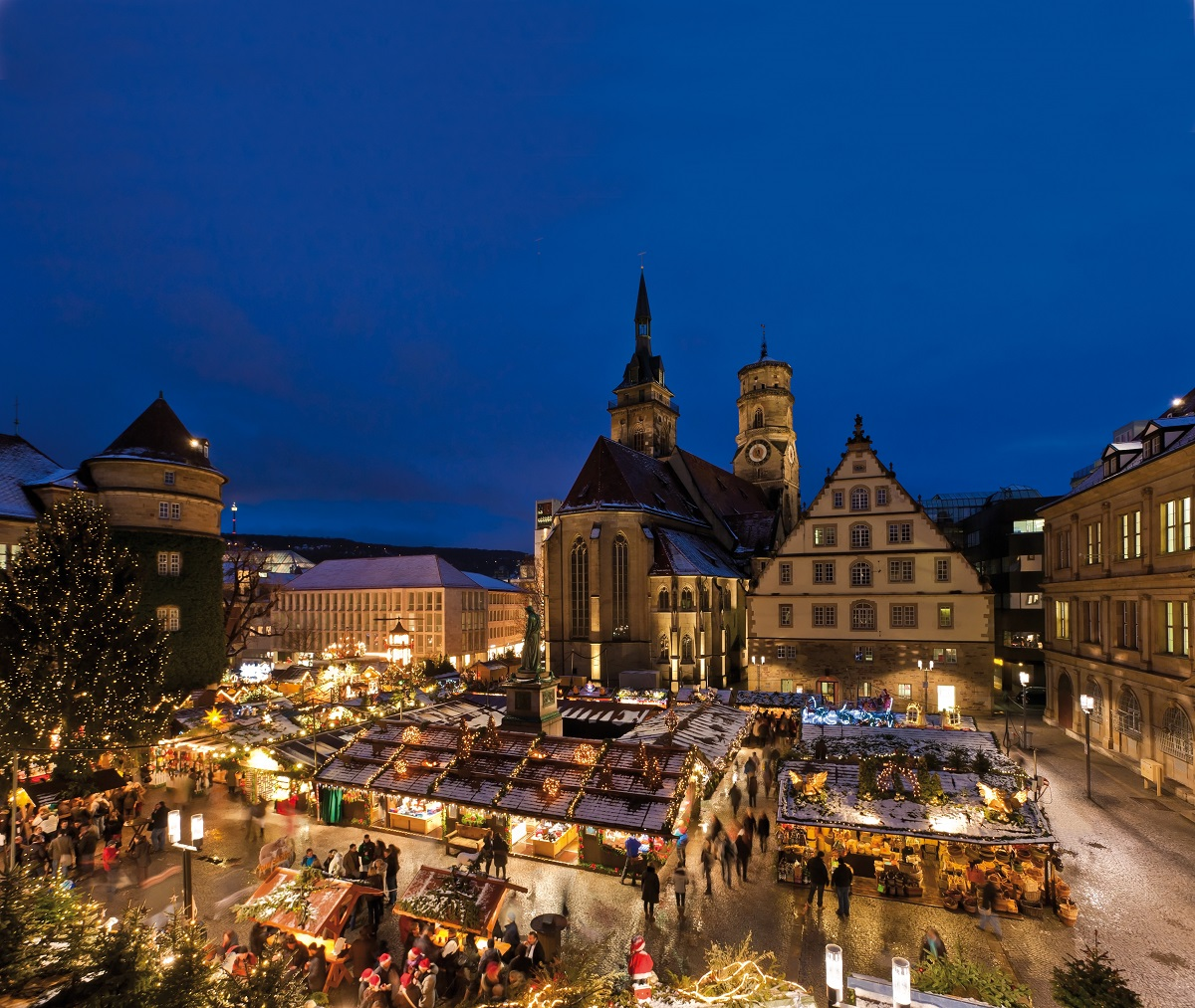 Outdoor Esslingen Christmas Markets In The Stuttgart Region - Travel, Events
