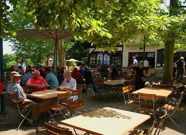 The Beer Gardens Biergarten Of Stuttgart Travel