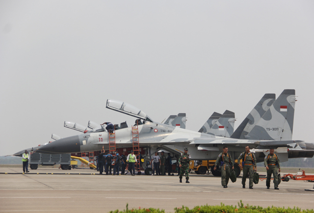 Jaga NKRI, Pesawat Tempur Bakal Disiagakan di Natuna