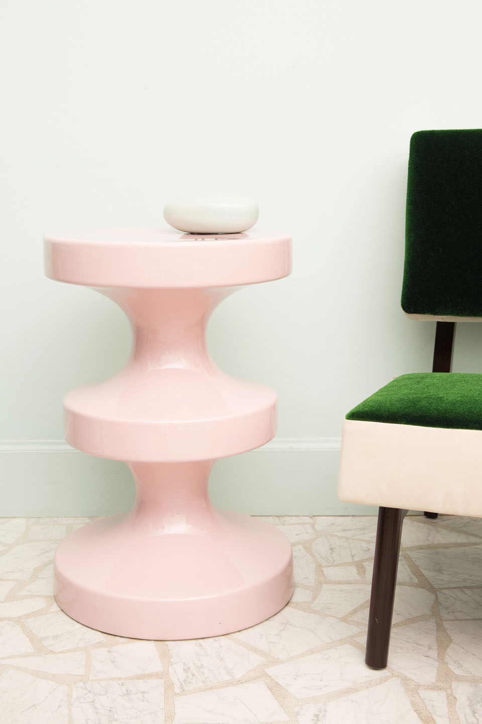 Tabouret India Mahdavi Happy Birthday India Mahdavi Milk Decoration