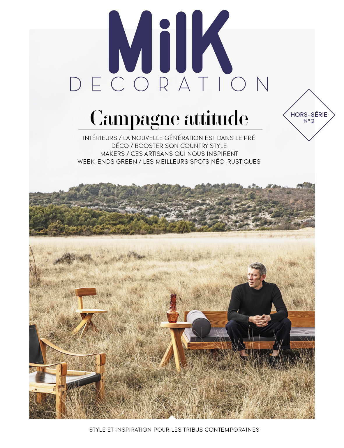 Style Campagne Magazine Milk Decoration Hors Série N2