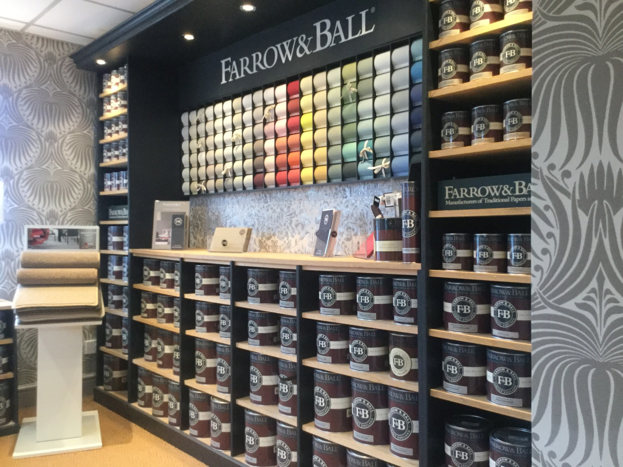 Farrow And Ball Décoration Farrow And Ball Paint In Cheshire