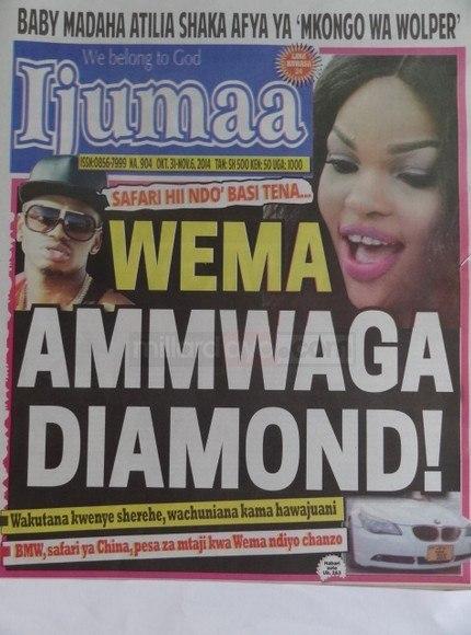 Kurasa za mwanzo na mwisho magazetini leo October 31 2014