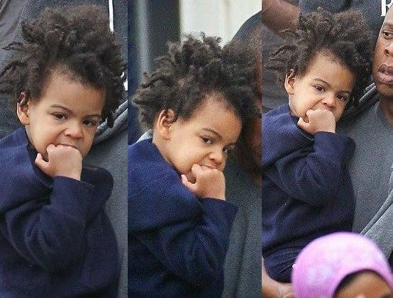 Blue Ivy Carter  mtoto wa wakali wawili kutoka Marekani  Jay Z na    Blue Ivy August 2014