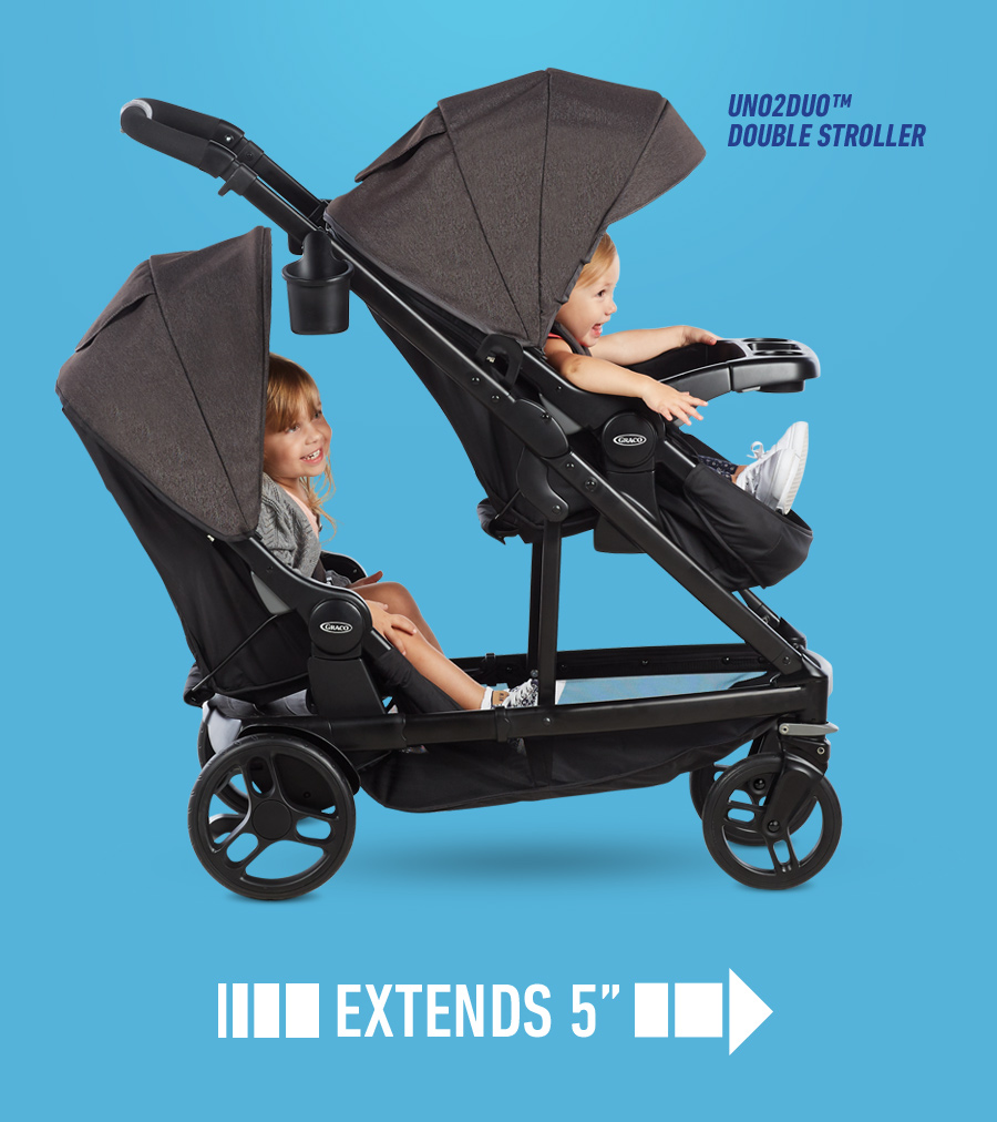 Uno2duo Stroller Graco 20 Off Strollers And Travel Systems Milled