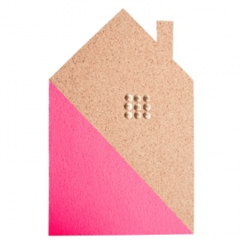 Roze Opbergmand Hip Huis Prikbord | Milledoni - Spot On Gifts
