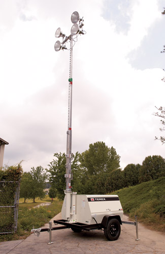 Terex AL5 Diesel Powered Light Towers - Millenium Products