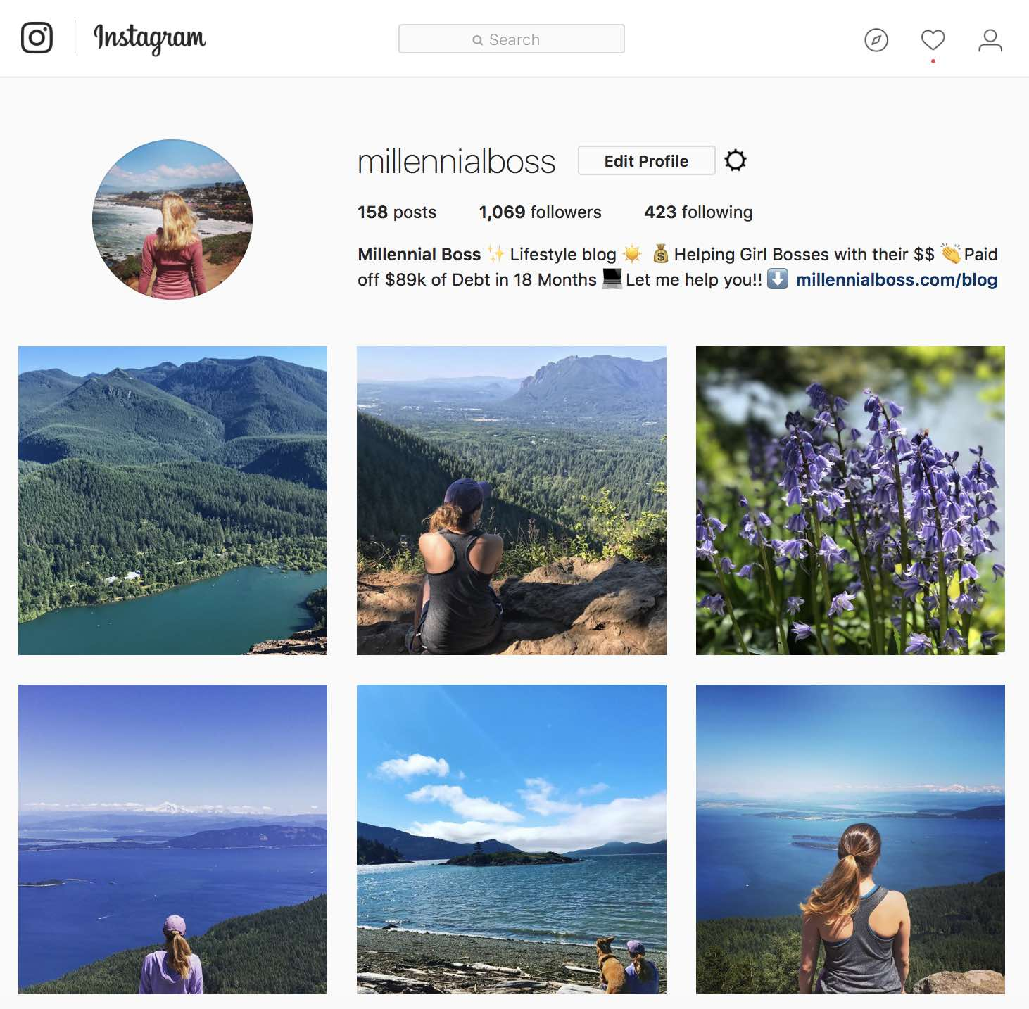 Lifestyle Blog Instagram 10 Instagram Accounts That Make Me Want To Be A Mountain Girl