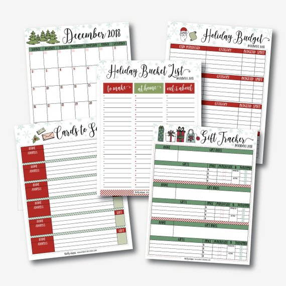 9 Christmas Budget Planners That Will Help You Save This Christmas