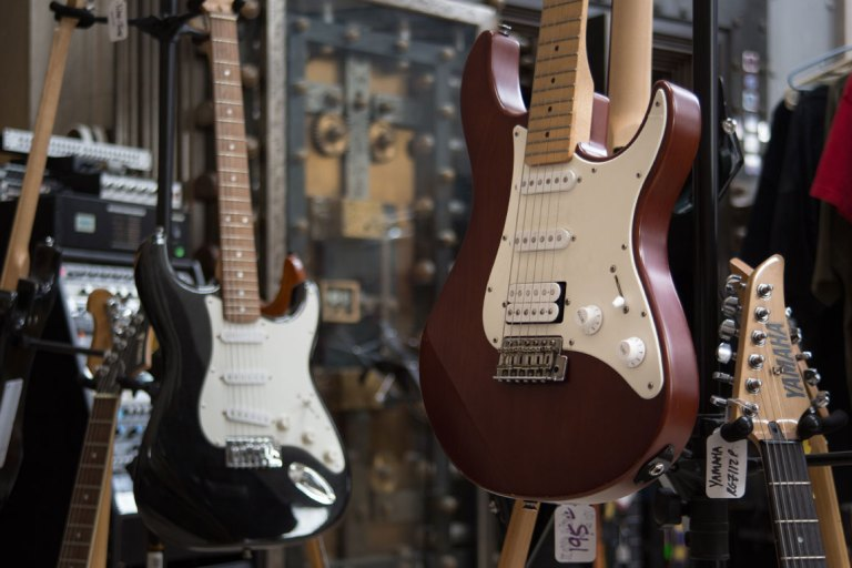 The electric guitar is Millennial's pick for instrument of the week