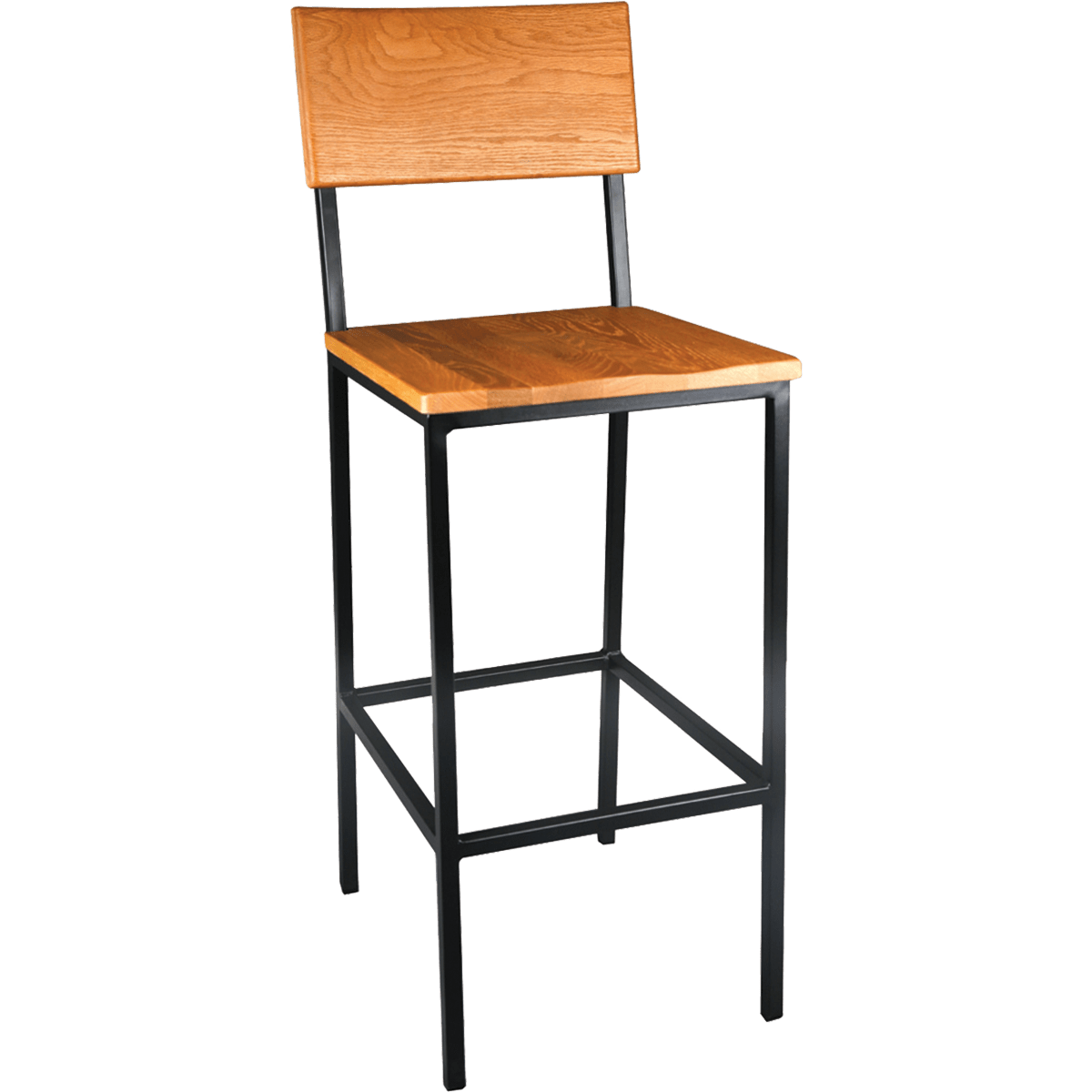 Wood And Metal Bar Stools Industrial Bar Stools Millennium Seating Usa