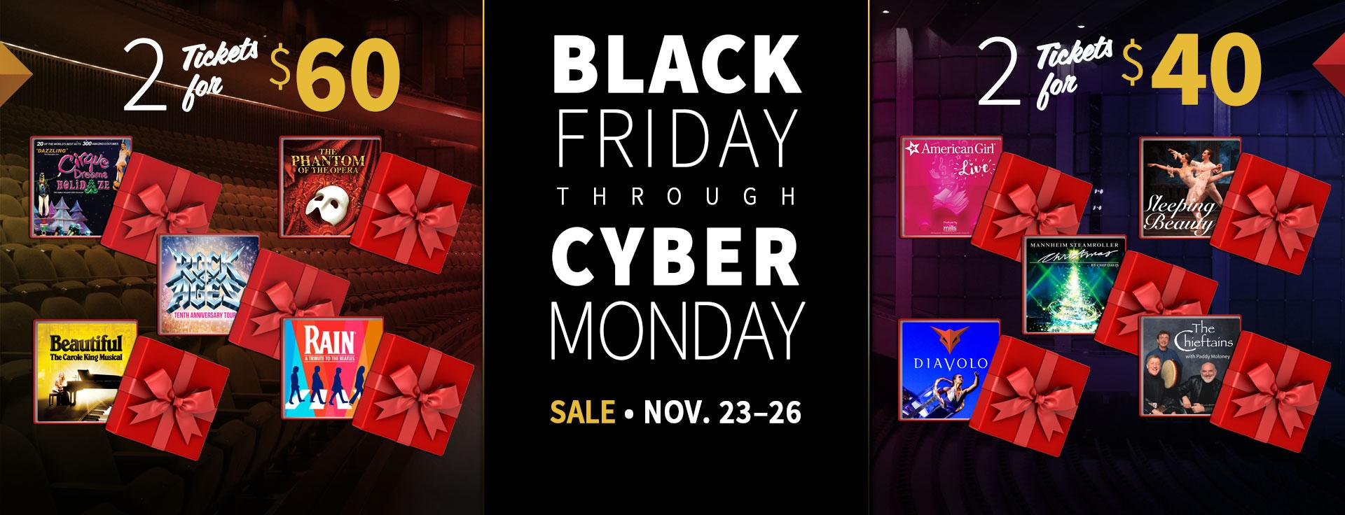 Sale Black Friday 2018 Black Friday Through Cyber Monday Sale Miller Auditorium