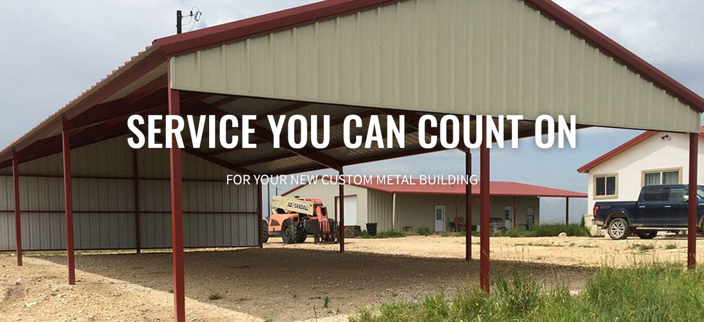 Barn Metal Welded Metal Buildings In San Angelo Texas Miller Construction