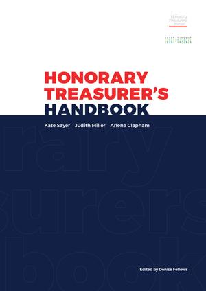 Honorary Treasurer\u0027s Handbook Sandina Miller design  consultancy