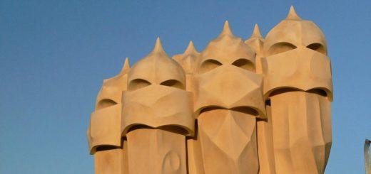 les cheminées de la Casa Milà (La Perdrera)