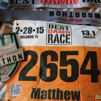 "Race Review: Best Damn Race Orlando Half Marathon (2/28/2015), or: ""In and around the lake..."""