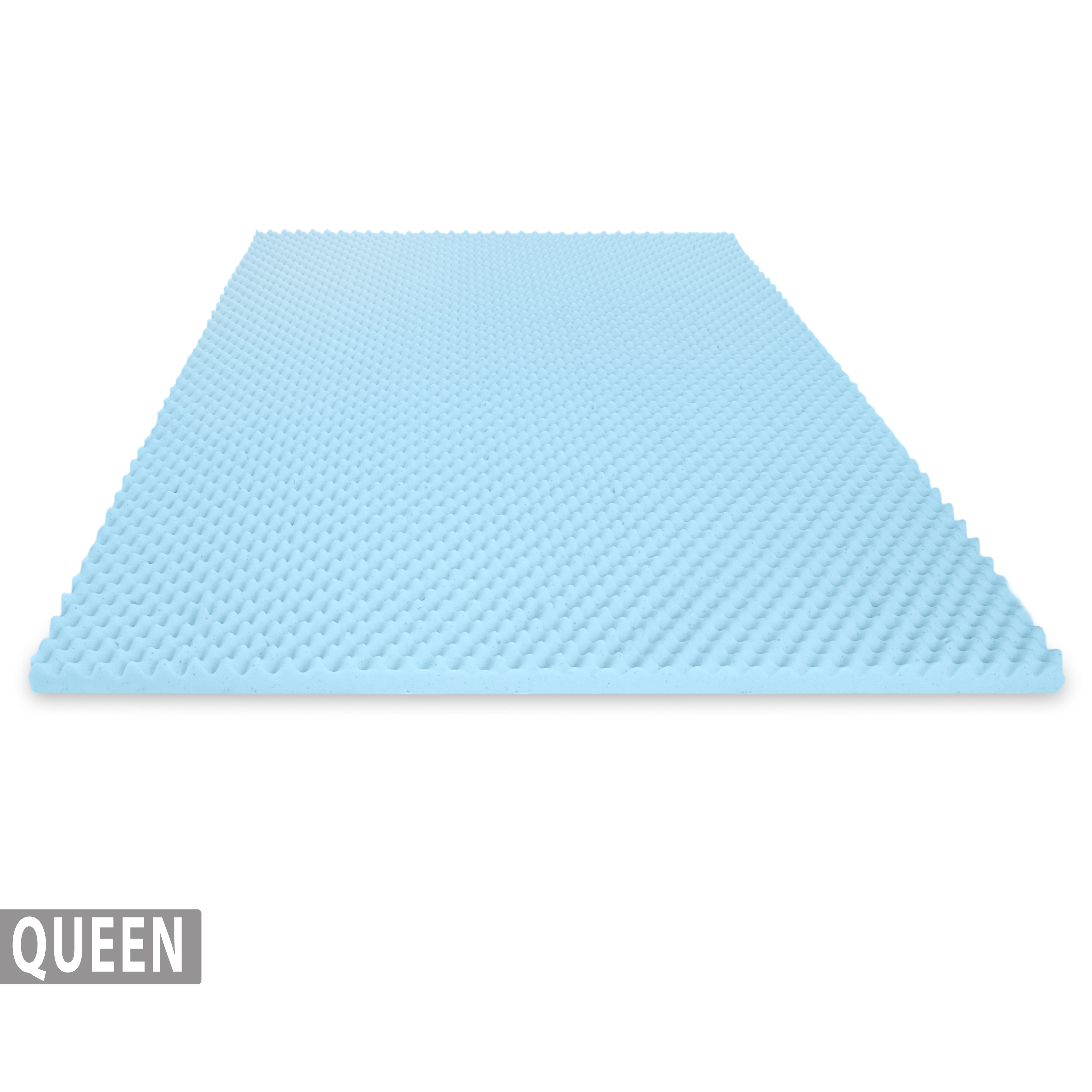 Memory Foam Mattress Toppers Egg Crate Gel Infused Memory Foam Mattress Topper Queen