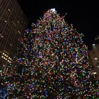 Xmas Tree Lighting Nyc 2015