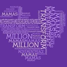 Million Mamas Movement purple heart