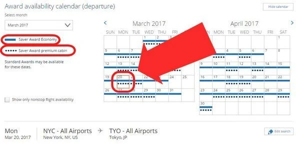 How to Use the United Airlines Award Chart Million Mile Secrets