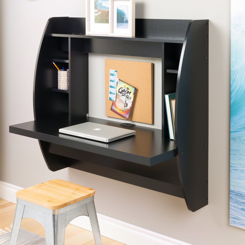 Wall Mounted Desks For Small Spaces Details About Wall Mounted Desk Small Hang Space Saver Floating Store Computer Pc Writing