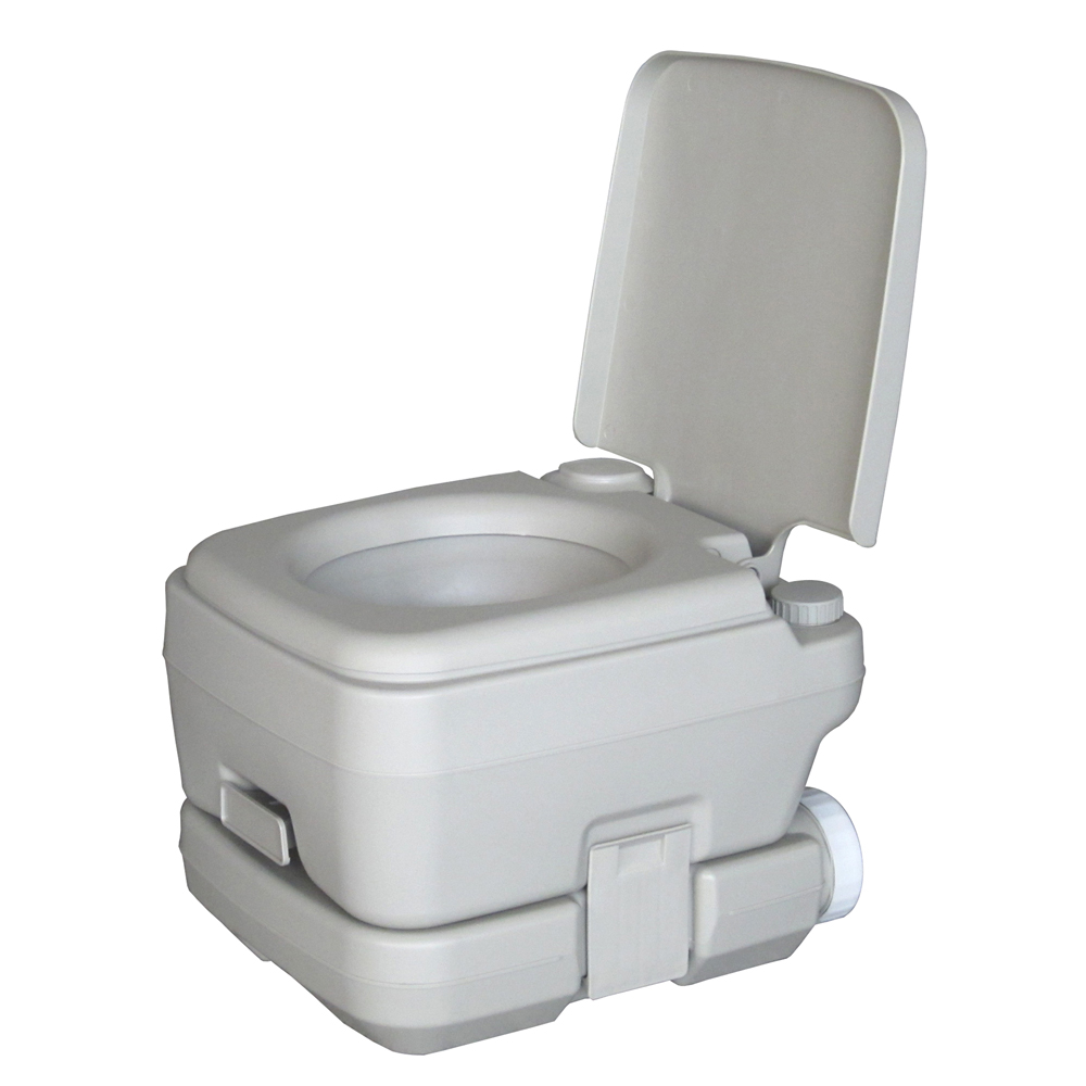 Camping Toilet Details About 10l Portable Camping Toilet Flush Porta Travel Vehicle Boat Toilet Potty Gray
