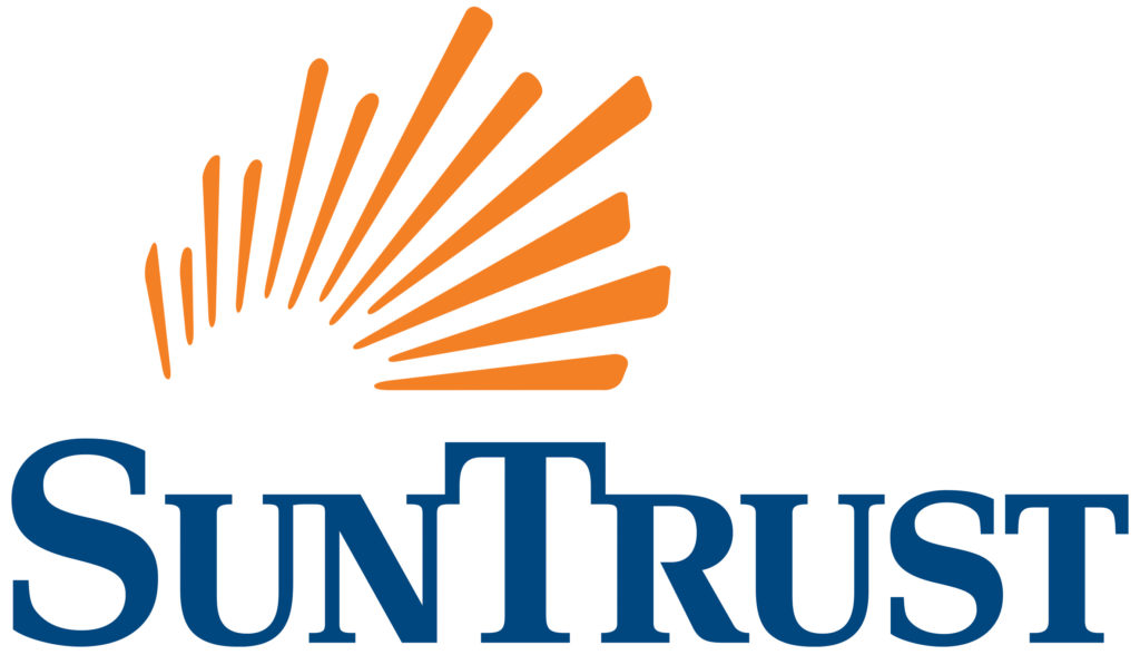 2018 SunTrust Bank logo \u2014 Mill Mountain Theatre