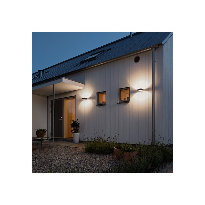 Applique Exterieur Eclairage Vers Le Bas Applique Exterieur Design Led Pool Gris Anthracite - Millumine