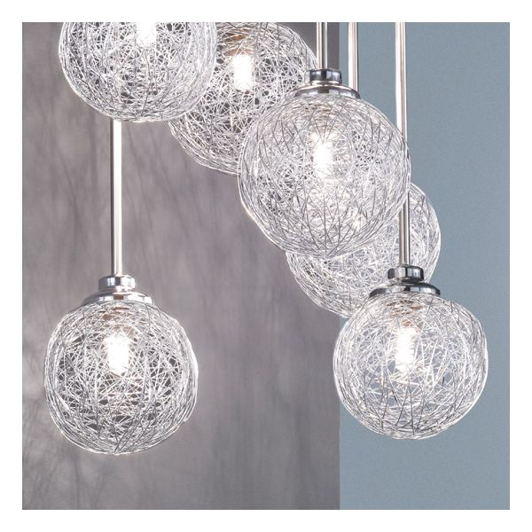 Salon De Jardin Metal Blanc Suspension Design Boule Night Living - Millumine