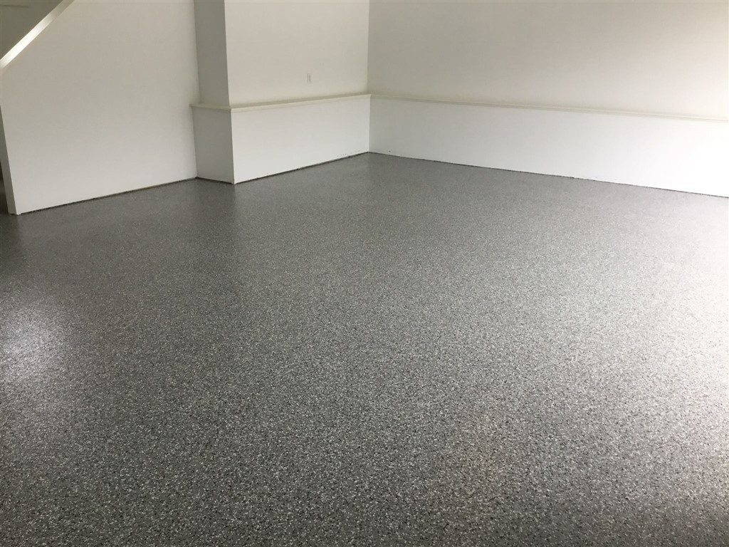 Garage Floor Paint Chips Garage Floor Coatings Millz House December Project Of The Month