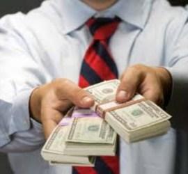 Dinero por ropa usada