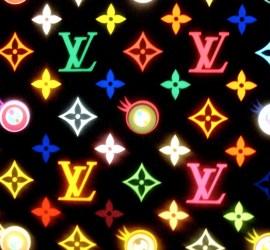 Louis Vuitton logo bolsos