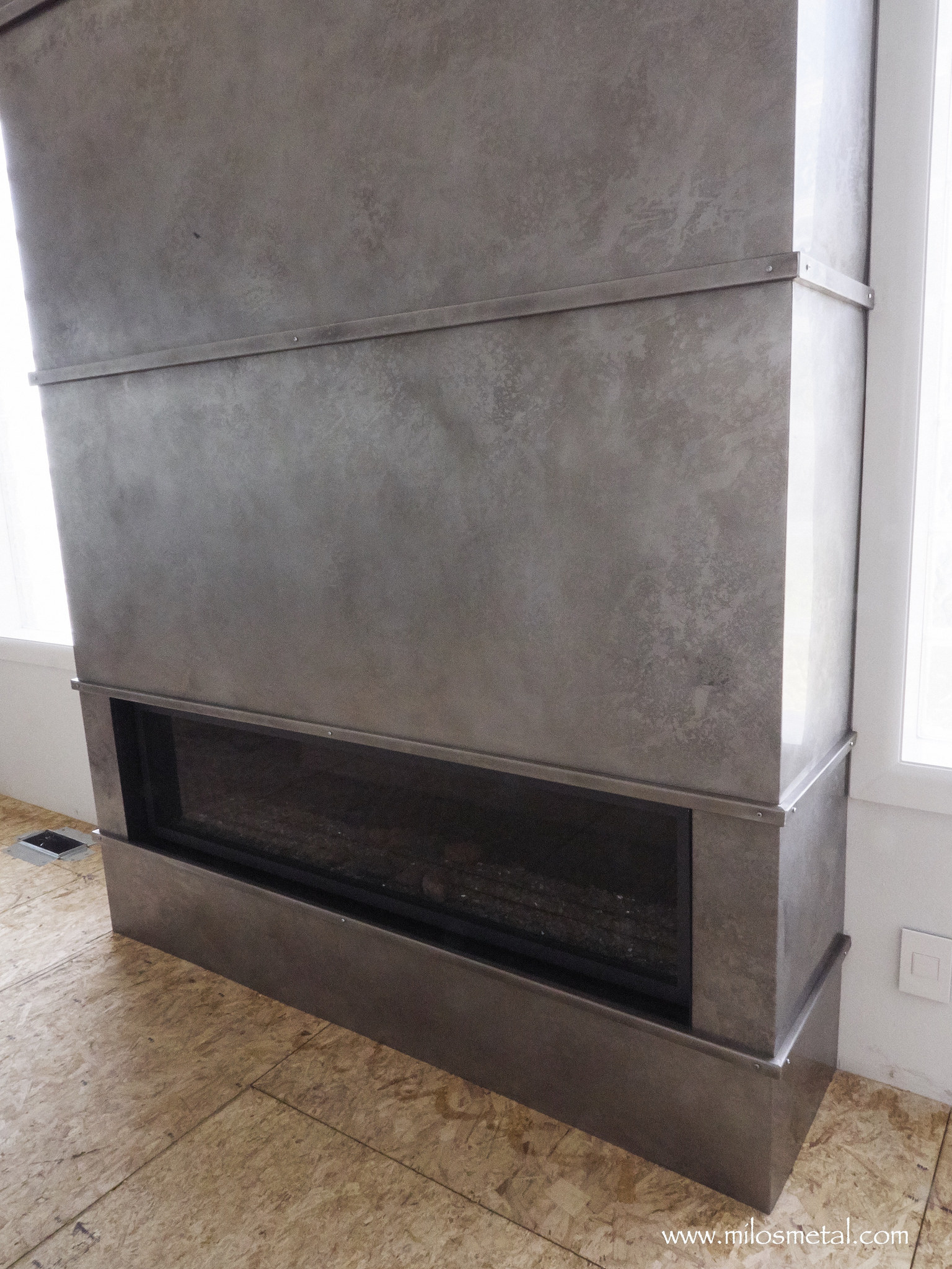Stainless Steel Fireplace Fireplace Volcanic Stainless Milo 39s Art Metal