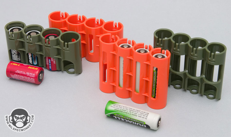 County Comm Compact Battery Holders