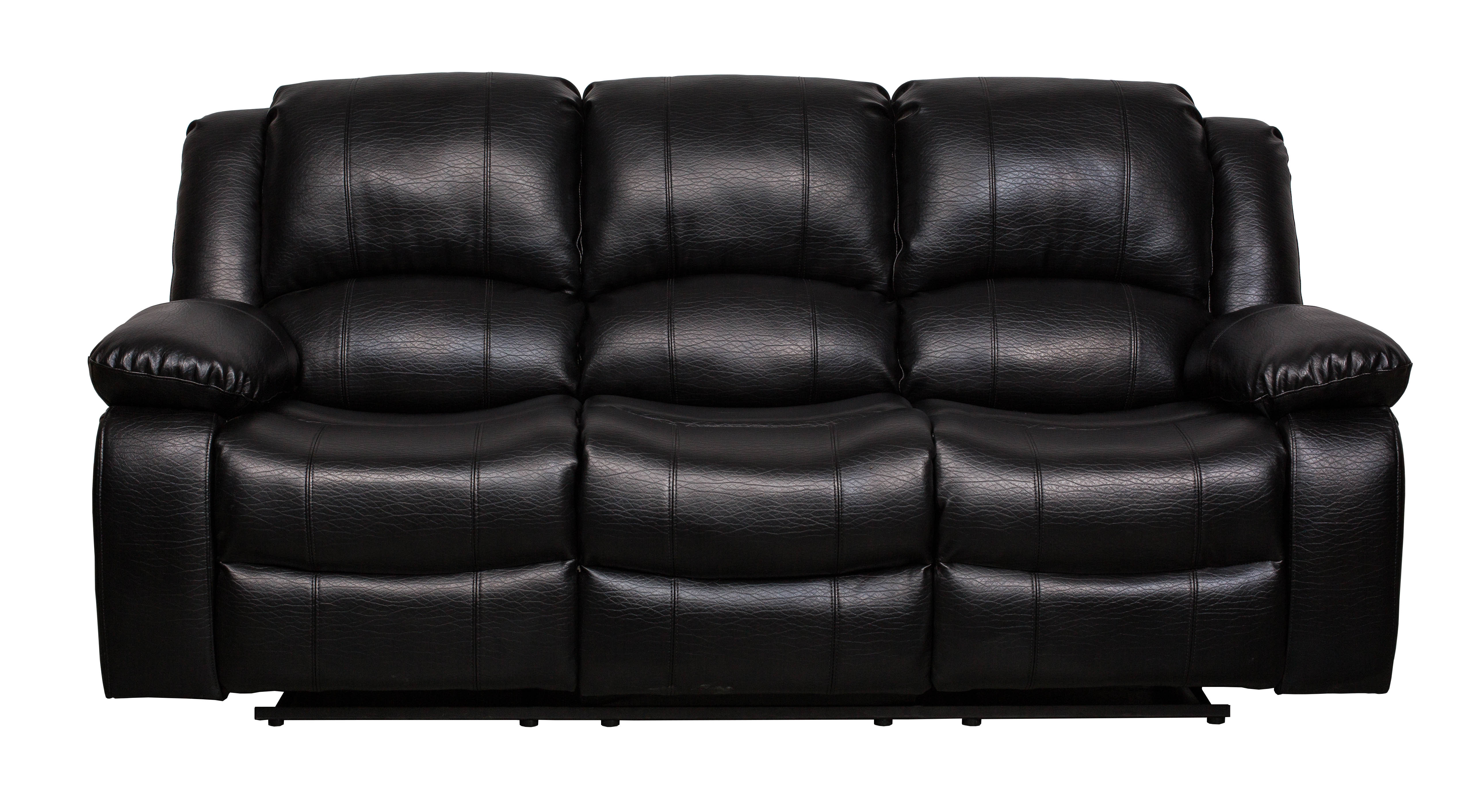 8026 Black Air Leather Sofa 8026 Bk Sofa Milton Greens Stars Lowest Price Possible With Best Possible Value