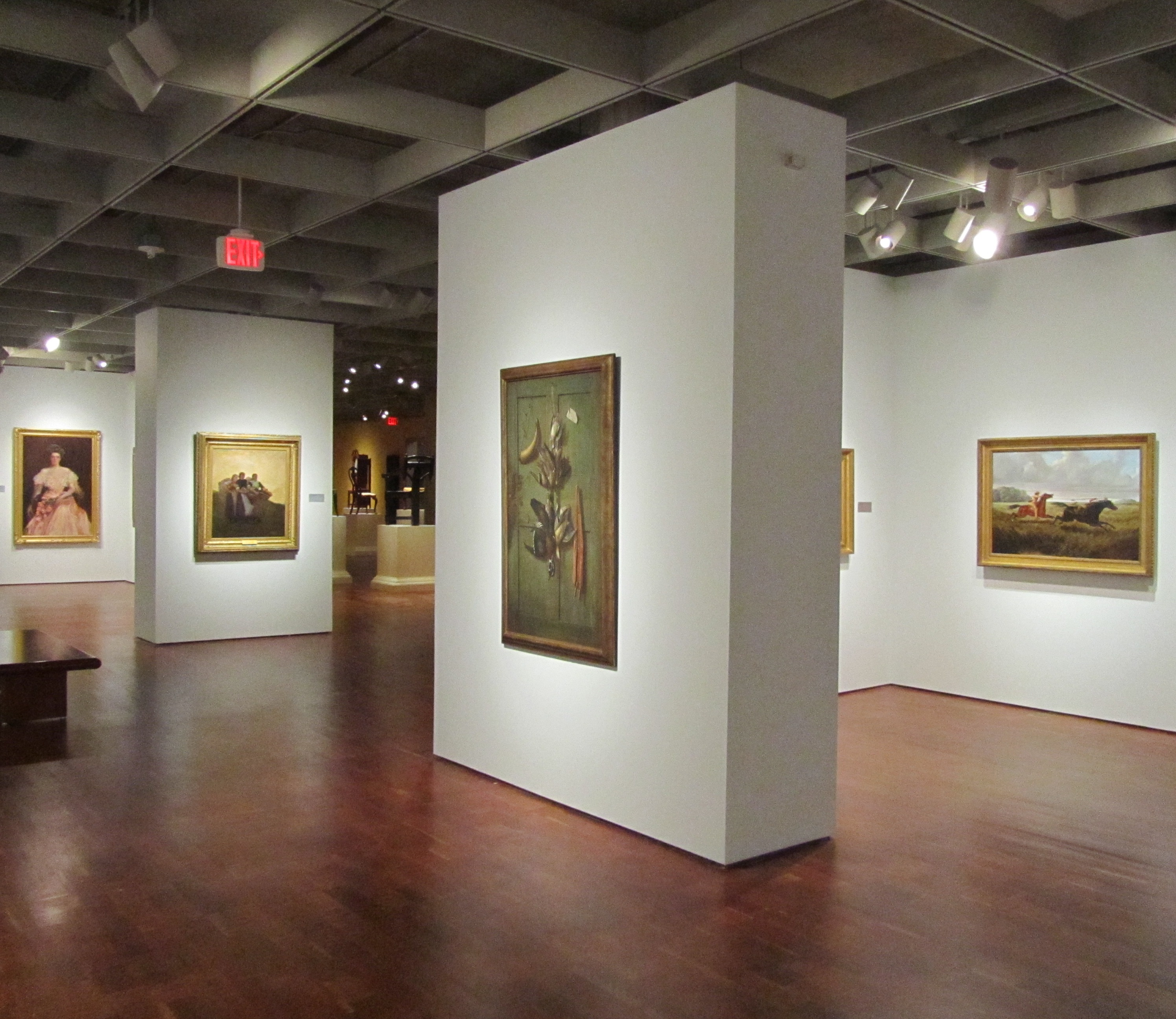 Art Gallery Refreshed Look For The American Paintings Galleries
