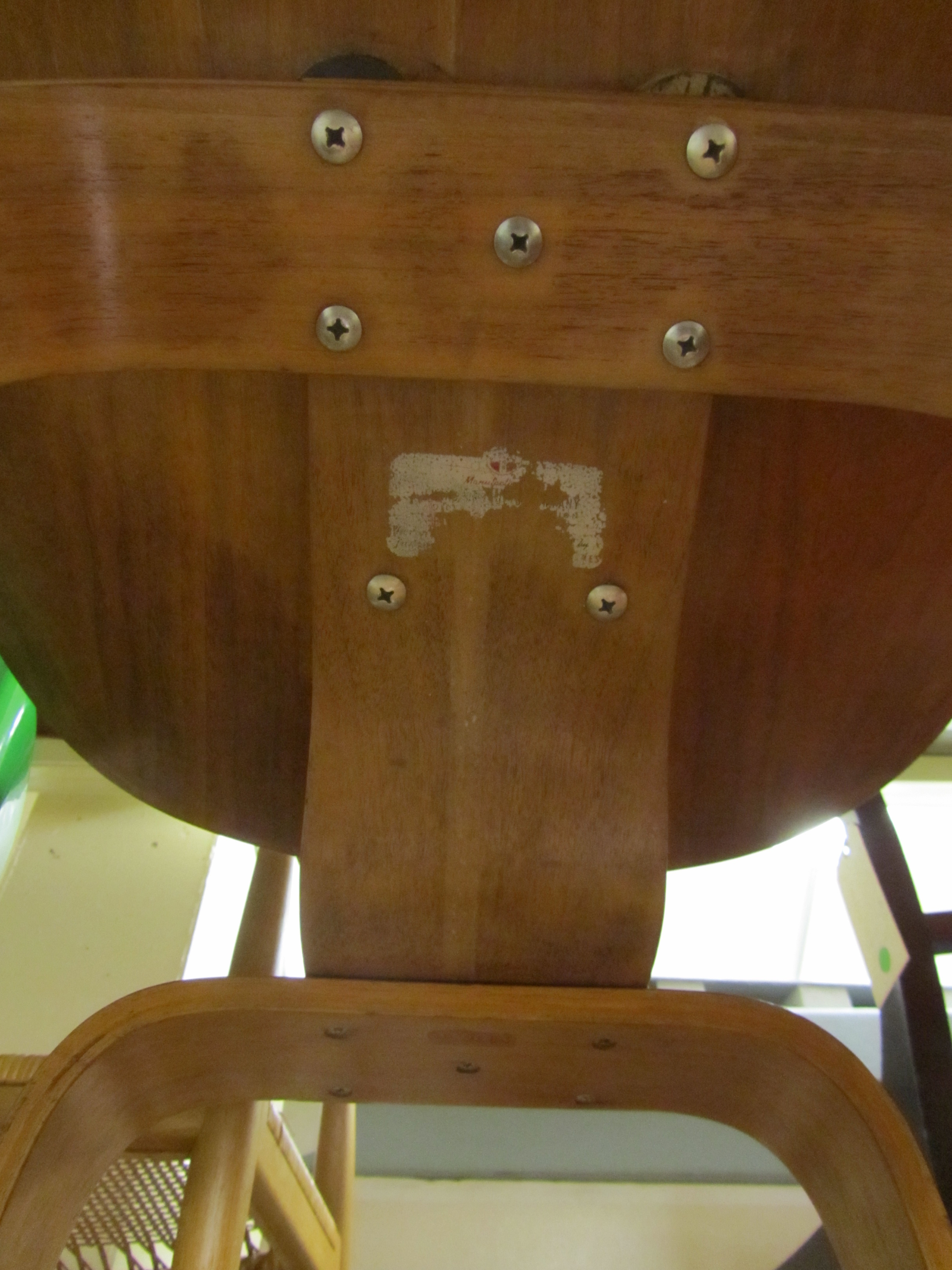 Charles Eames Stuhl Original From Museum Storage Beneath A Ray And Charles Eames Lcw Chair