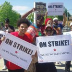 Nationwide movement for a living wage strikes Milwaukee