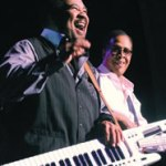 George Duke and Stanley Clarke performed on June 21, 2012 at the Northern Lights Theatre at Potawatomi Bingo and Casino in Milwaukee. The event was a month prior to Duke's wife, Corine passing from cancer. (Photo by Robert A. Bell)