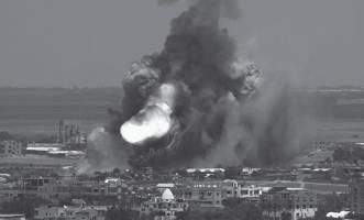 Bombing in Gaza