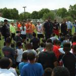 Gilbert Brown All Pro Football Camp