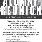 Milwaukee Public Schools Alumni Reunion Feb 23