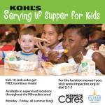 Kohl's Is Serving Up Supper For Kids