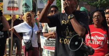 Protest Promotes Unity While Fighting for Justice in Police Involved Shootings