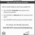 Buying or Fixing Up A Home In Jefferson, Ozaukee, Washington or Waukesha Counties? We Can Help!