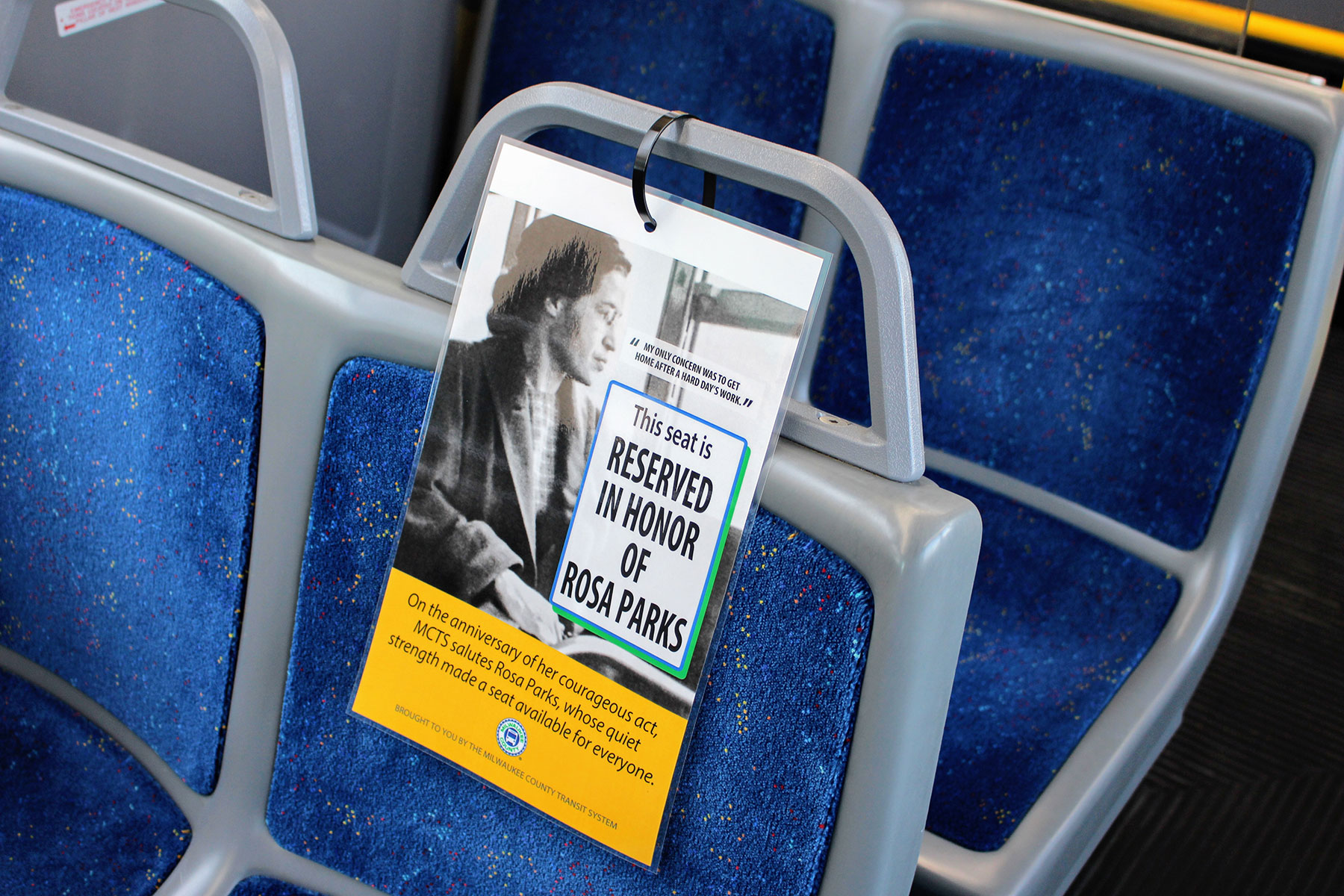 In Rosa Rosa Parks Honored With Reserved Bus Seat Tribute The Milwaukee