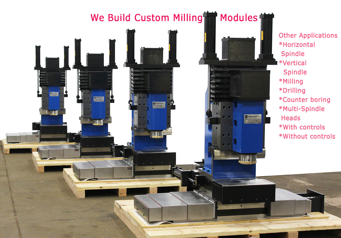 WE Build Custom Milling Modules