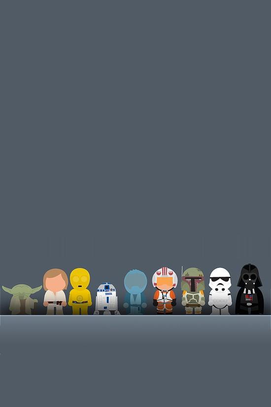 Iphone Wallpaper Quote Pink Fondos De Star Wars Para Iphone Mi Mam 193 Tiene Un Blog