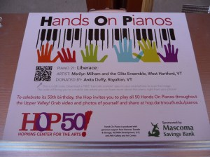 Hands on Pianos
