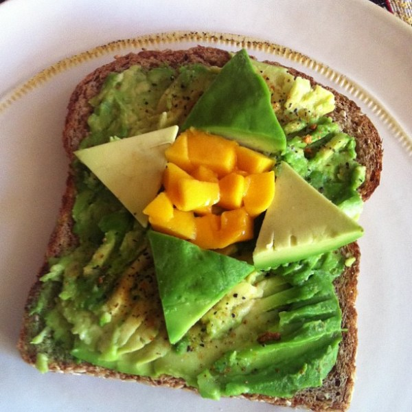 mango-avocado-toast